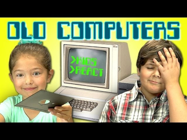 Throwback Thursday: Kids React to old Computers