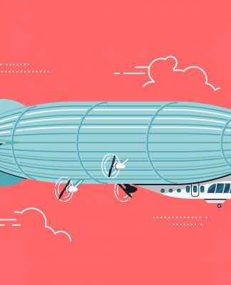 Unlike airplanes, well-engineered blimps can carry more cargo, stay in flight for days, and can land and takeoff easily in areas without specialized infrastructure. They are also less dependent on traditional jet fuels, which makes them a more energy efficient and cheaper transport option.