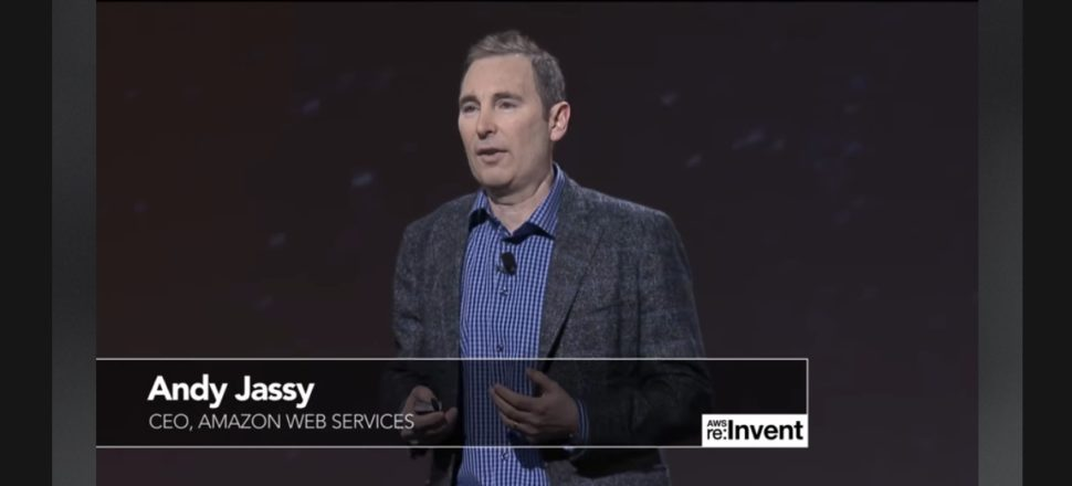 Amazon CEO Andy Jassy | live.awsevents.com/previous-recordings.html