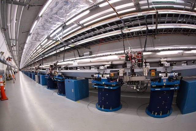 LCLS Undulator Hall | SLAC National Accelerator Laboratory