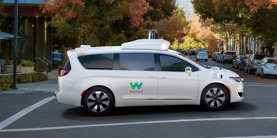Waymo Chrysler Pacifica | Waymo.com