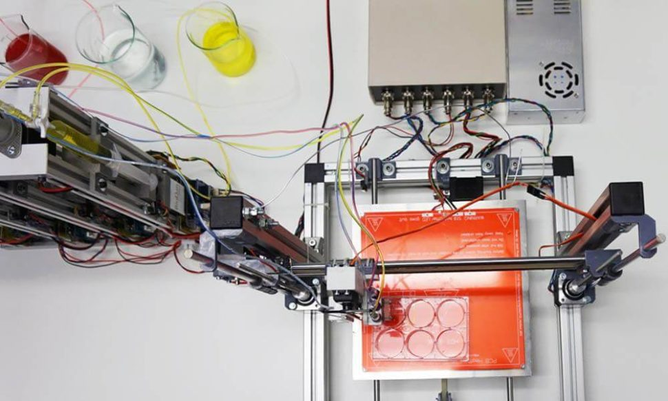 Universidad Carlos III de Madrid 3D bioprinter | Uc3m.es