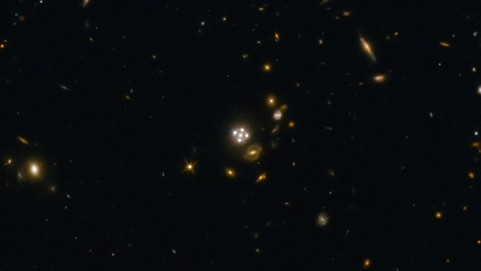 Lensed Quasar and its Surroundings | NASA | ESA | Max Planck Institute for Astrophysics | University of Cambridge