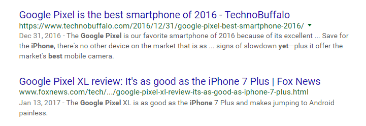 Google Pixel best iPhone yet