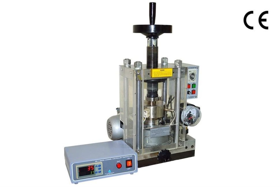 40T Electric Hydraulic Press with Optional Heatable Die (200 ºC Max) for Cold Sintering Process (CSP) | MTI Corporation | MtiXtl.com