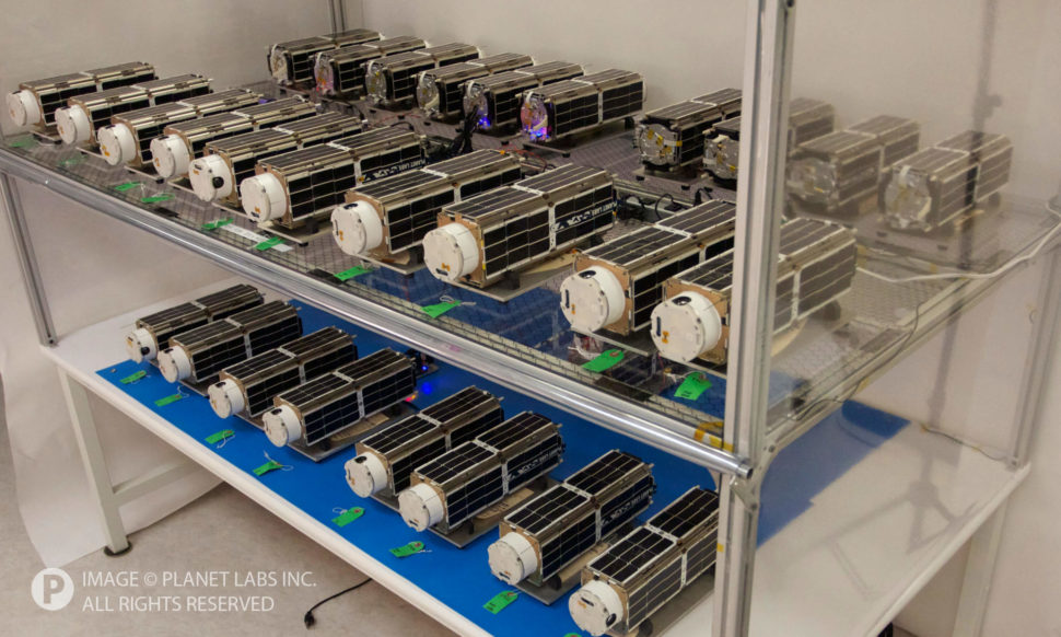 Dove's nest Planet Labs' Private Satellite Constellation | Planet Labs Inc.