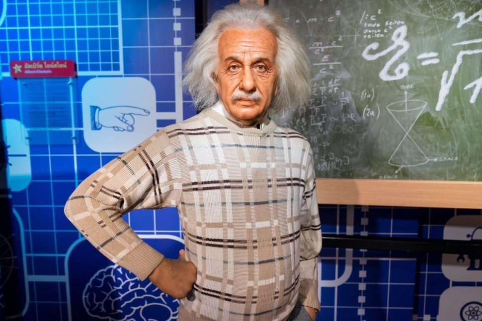 Wax Model of Albert Einstein in Thailand | Pumidol | Shutterstock.com