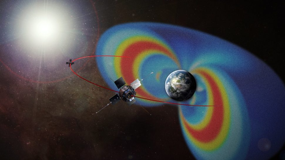 Van Allen Probes find a barrier of charged particles among the Van Allen Radiation Belts | NASA | Goddard