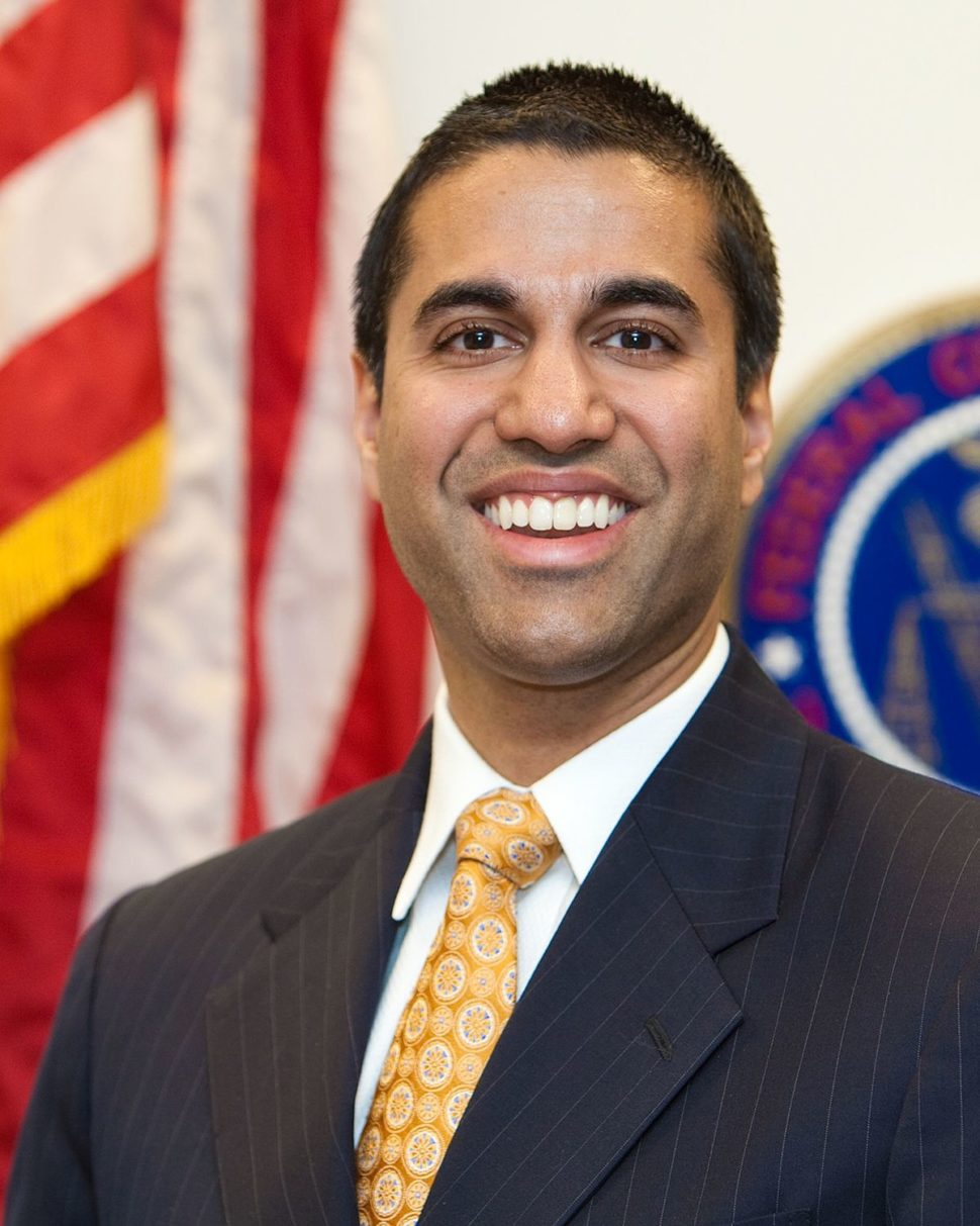 Chairman Ajit Pai | U.S. Federal Communications Commission | https://transition.fcc.gov/commissioners/photos/ppavp.jpg
