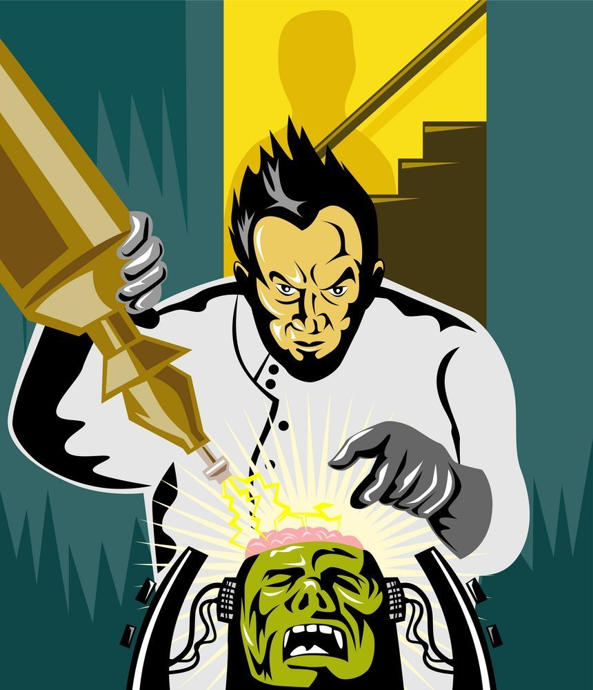 Think of your site like Dr. Frankenstein would (he's got a lot of page views) | Patrimonio Designs LTD | Shutterstock.com