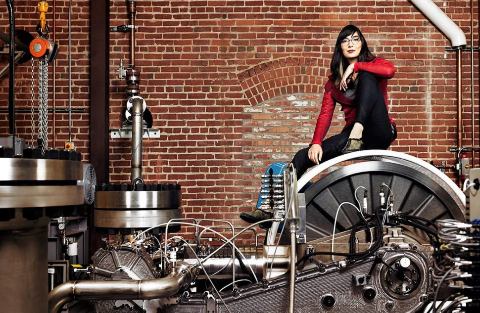 Danielle Fong, Co-founder of Lightsail Energy   Cody Pickens