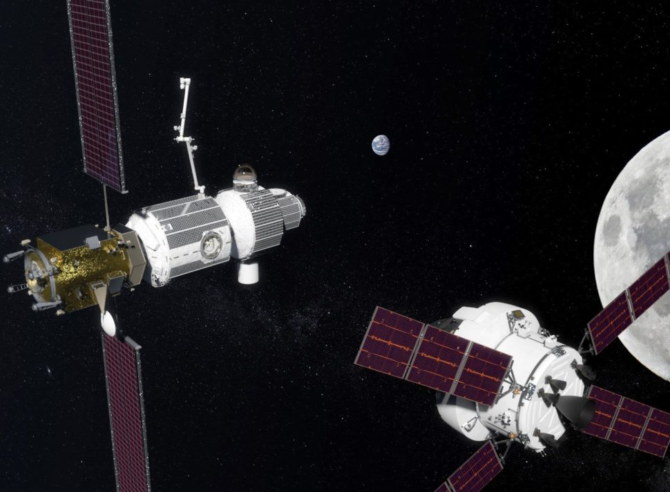 Artist rendering of Deep Space Gateway | NASA