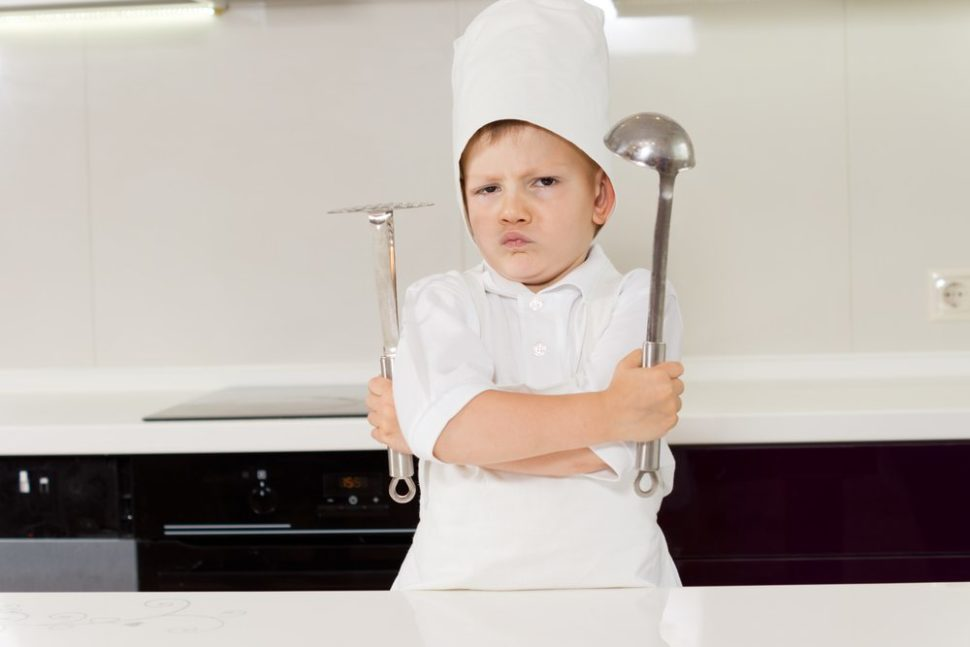Yes, little man. This AI will steal your secret recipe, too. | Viacheslav Nikolaenko | Shutterstock.com