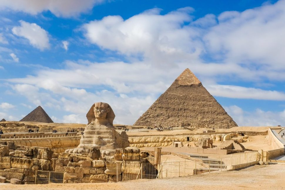 The Great Pyramids and The Sphinx | Orphan Cam | Shutterstock.com