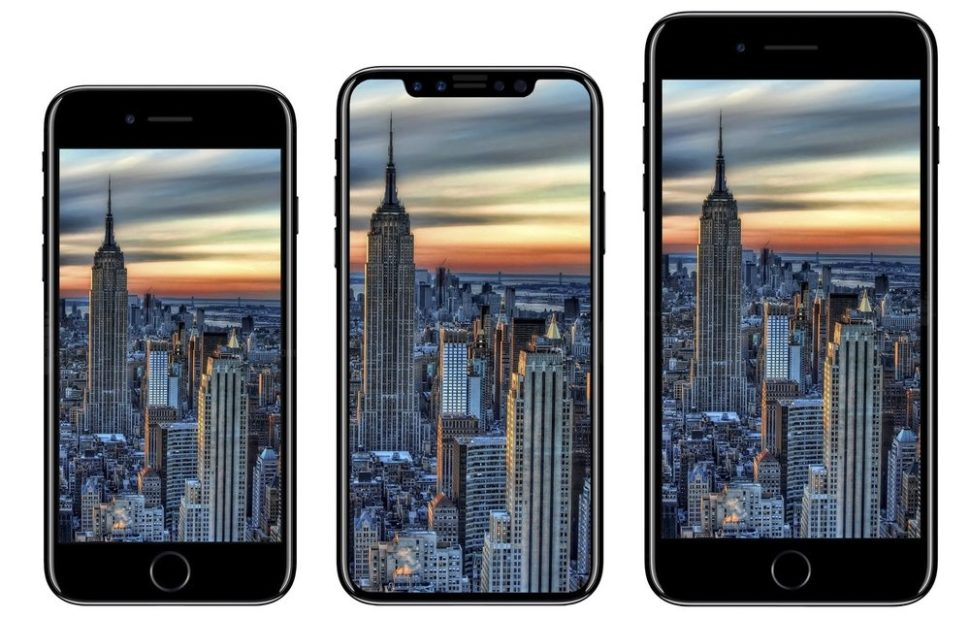 iPhone X is Bezel Free | Looks good, no? | iDropNews8