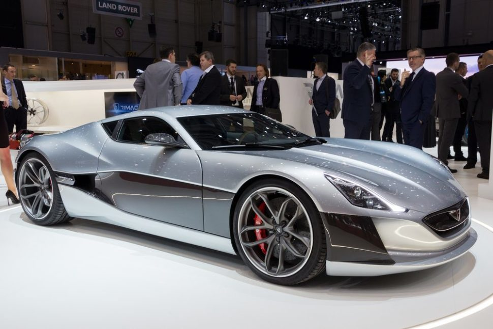 The Rimac Concept One | VanderWolf Images | Shutterstock.com