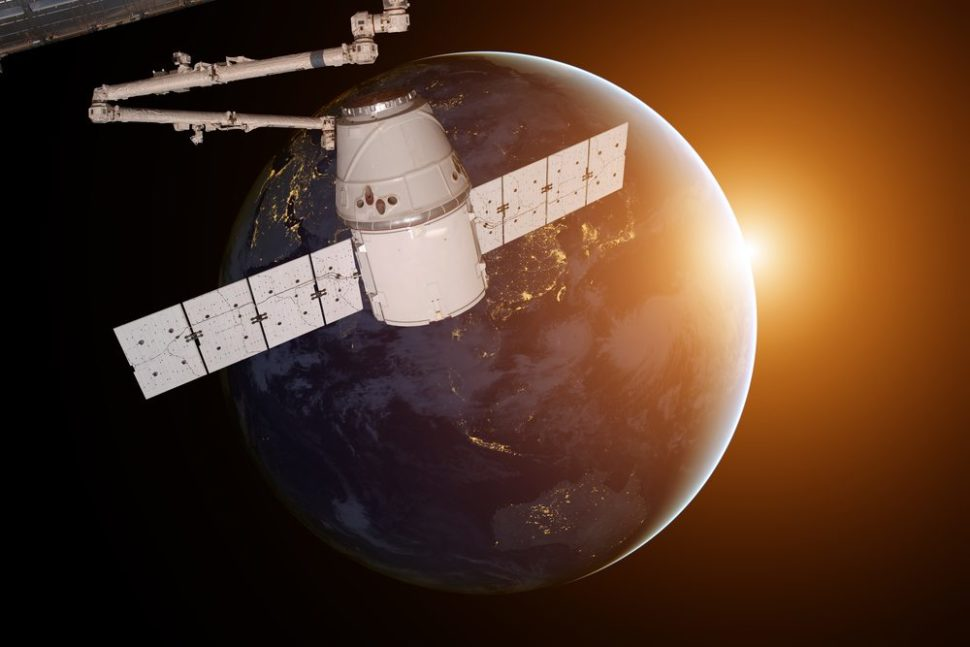 SpaceX's Dragon Capsule--which will eventually help refuel the BFR | NASA Images | Shutterstock.com