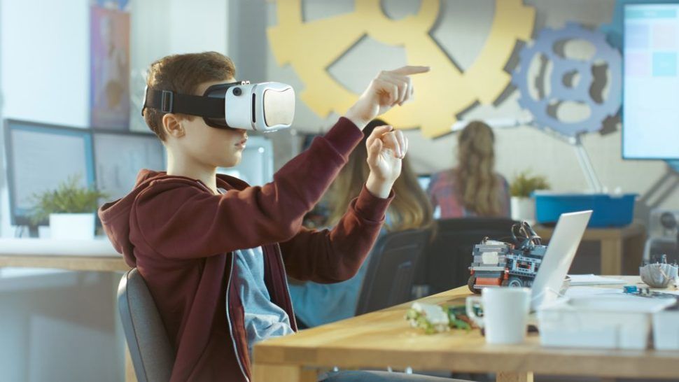 Vr and AR could have massive potential as teaching tools. | Shutterstock