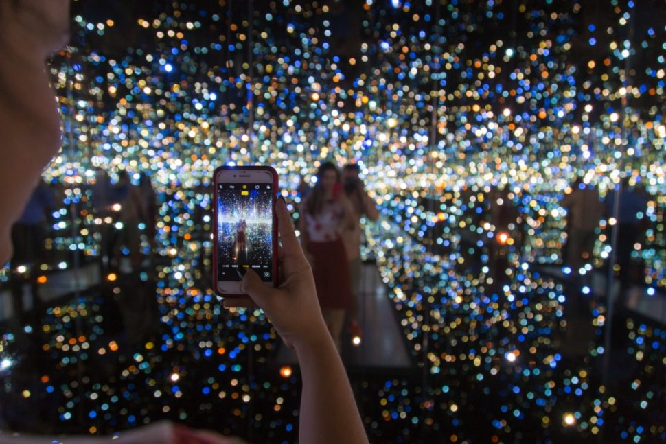 Inside Yayoi Kusama's Infinity Mirrors | The Broad Art Foundation, Los Angeles