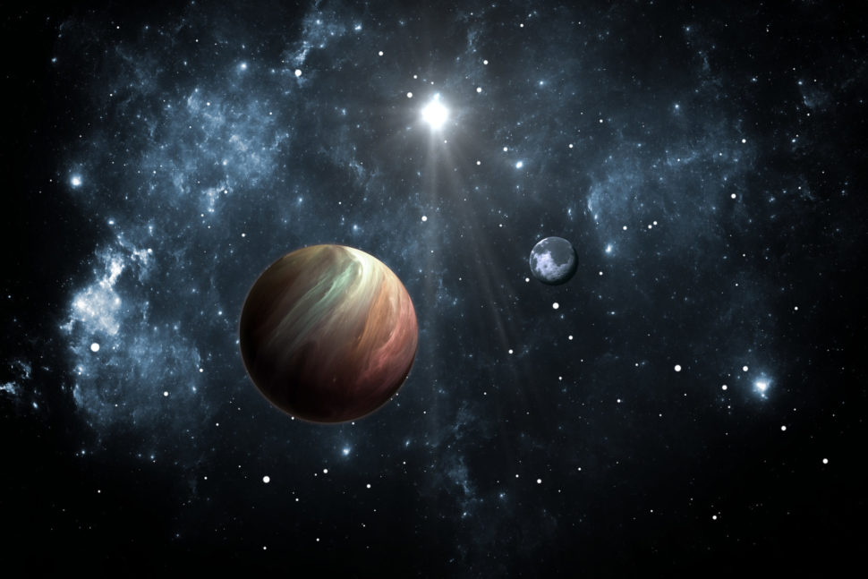Image of a planetary system. Elements of this image furnished by NASA | Jurik Peter | Shutterstock