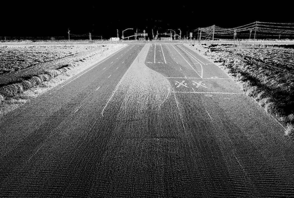 Highway image using LIDAR | Oregon State University | Flickr.com