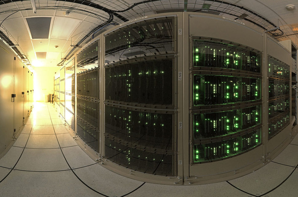 The ALMA Correlator, one of the most powerful supercomputers in the world.   ESO   ESO.org