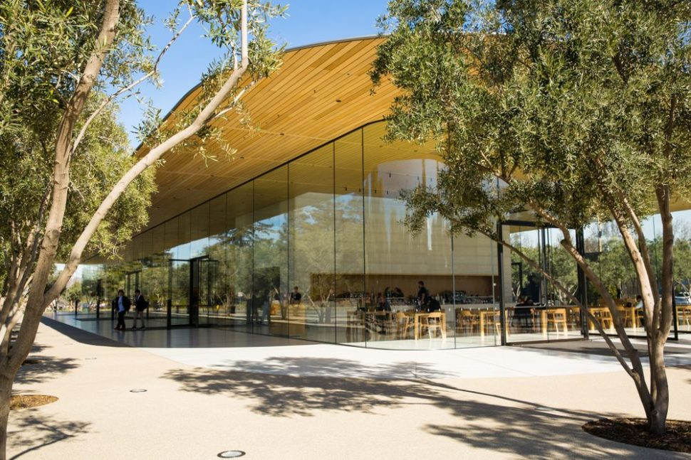 The Visitor Center at Apple Park, Cupertino, CA | Valeriya Zankovych | Shutterstock.com
