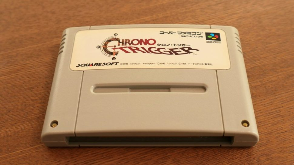 The original Chrono Trigger cartridge. | Slyellow | Shutterstock.com