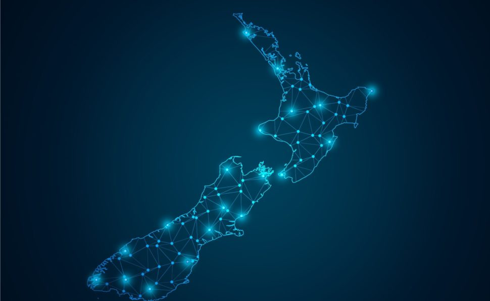 New Zealand will, by June 2018, and a robust LoRaWAN IoT network installed nearly everywhere by Spark NZ. | Sutagon Rodruangrid | Shutterstock.com