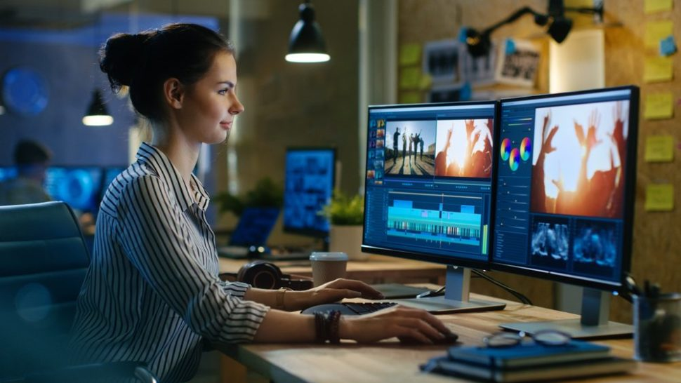 A video editor preparing video content for publication | Gorodenkoff | Shutterstock.com