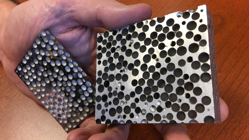 The new foam material, Composite Metal Foam | Afsaneh Rabiei