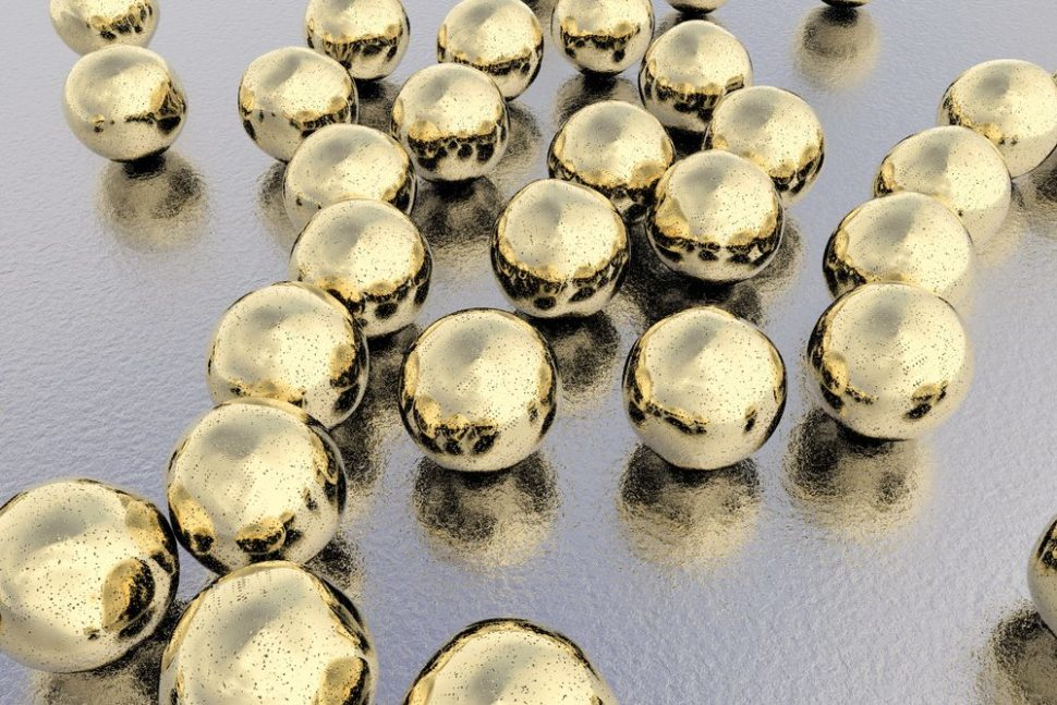 Gold nanoparticles will almost certainly be integral to future drug therapies.   Kateryna Kon   Shutterstock.com