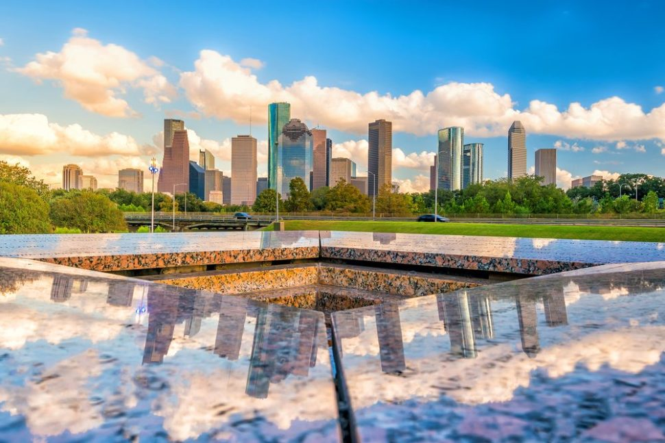 Downtown Houston from the NW.   F11photo   Shutterstock.com