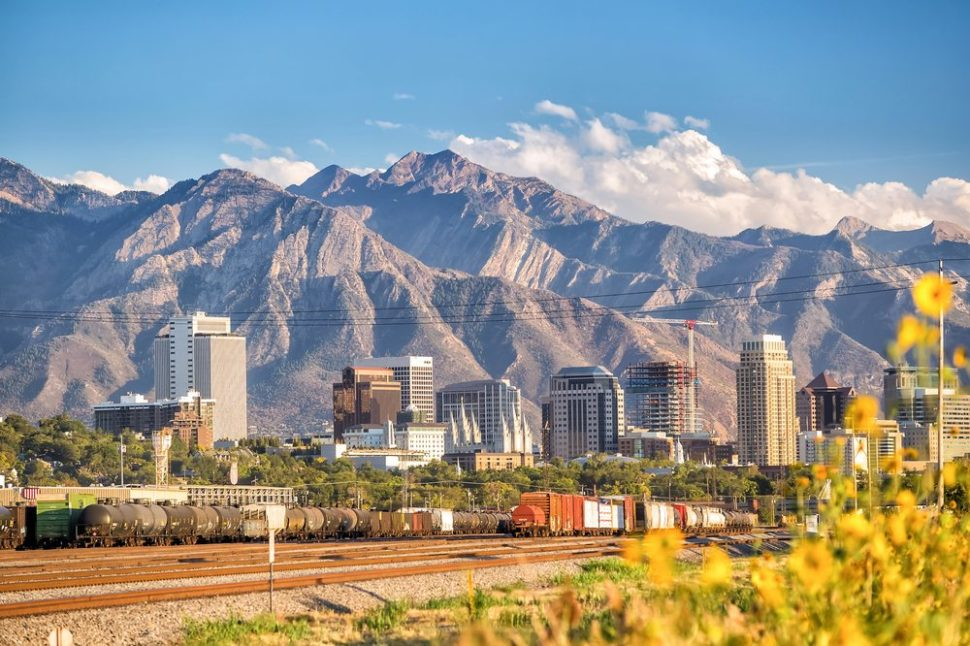 Already beautiful, Salt Lake City could soon be the first American city to test self-driving cars in a bustling downtown. | F11 Photo | Shutterstock.com