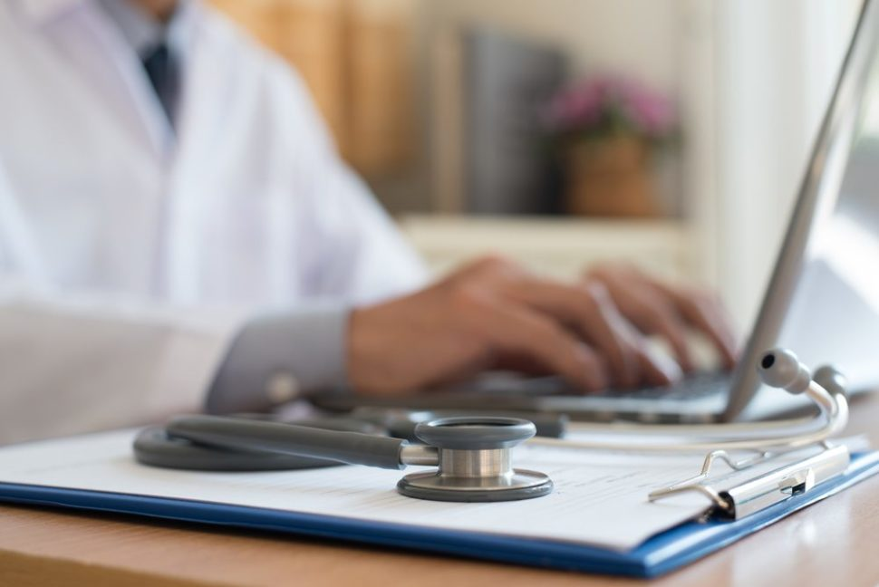 Electronic health records mean you no longer have to try and read doctor handwriting. | TippaPatt | Shutterstock