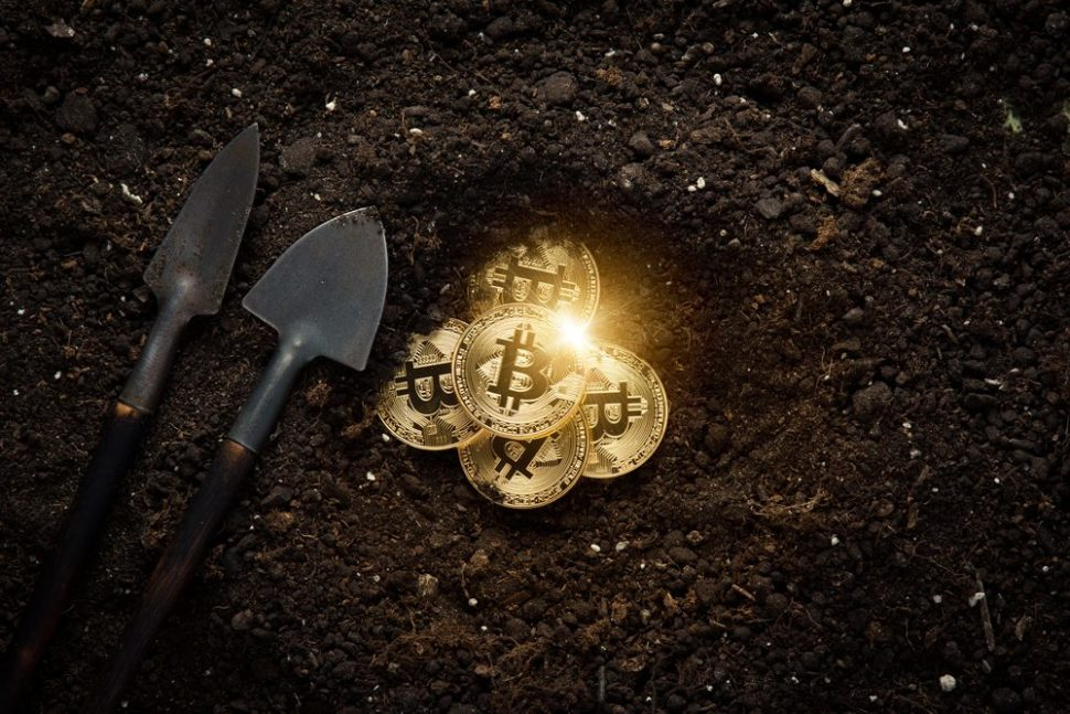 It would be nice if we could just dig for Bitcoin. | SPF | Shutterstock.com