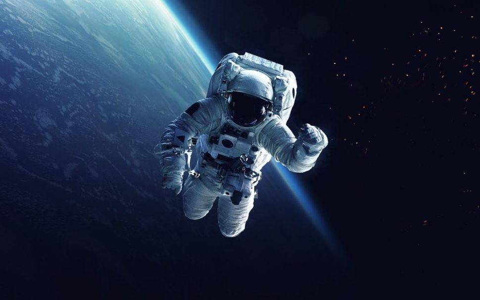 If you can't spacewalk, VR feeds of objects in orbit is a pretty good stand-in. | Vadim Sadovski | Shutterstock