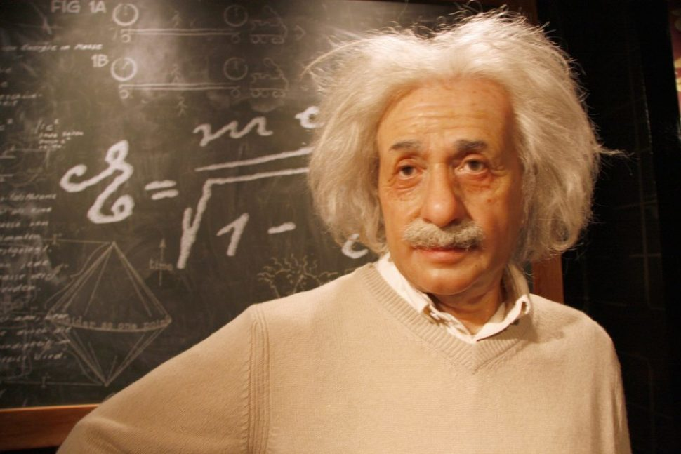 If only Albert Einstein has theorized that he would never be recreated in wax. That would have been his biggest flub. | 360b | Shutterstock.com