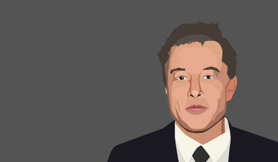 Elon Musk, so well liked, has a down week. | Marina Linchevska | Shutterstock.com