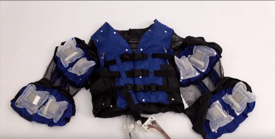 Disney's Force Feedback Jacket | Disneyresearch.com