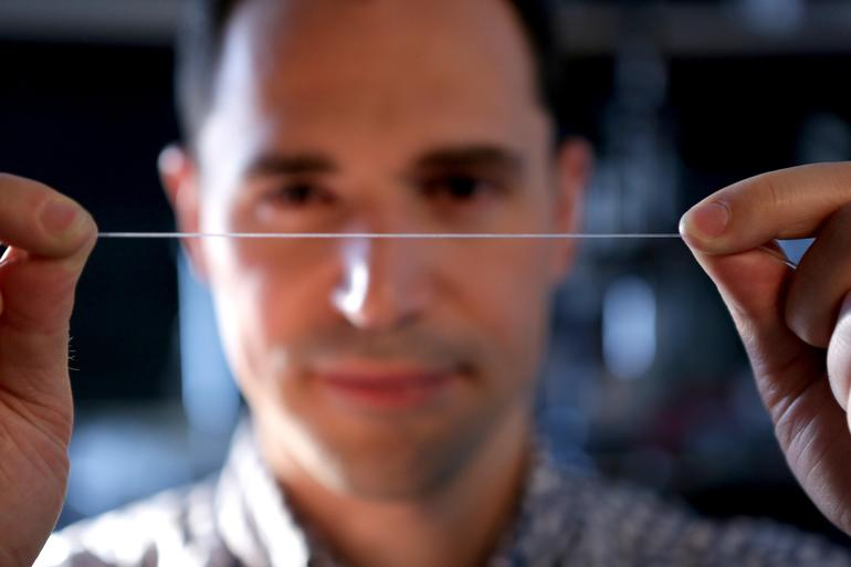 Flexible, sensitive fibers are an obstacle that the tech world has been fighting against for decades. Now, they're finally here. | Image courtesy of ZDNet