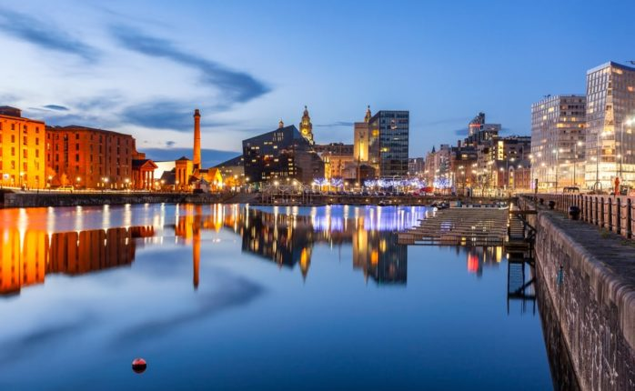 Liverpool has announced plans to become the world's first climate positive city with the use of blockchain. | Image By Shahid Khan | Shutterstock