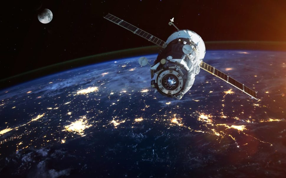 Grace-FO, NASA's new satellite, will help researchers measure climate fluctuations using lasers. | Image  by Vadim Sadovski | Shutterstock