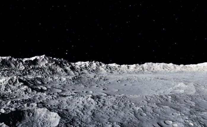 Researchers may have found evidence that life on the Moon may have been possible billions of years ago. | Image By HelenField | Shutterstock