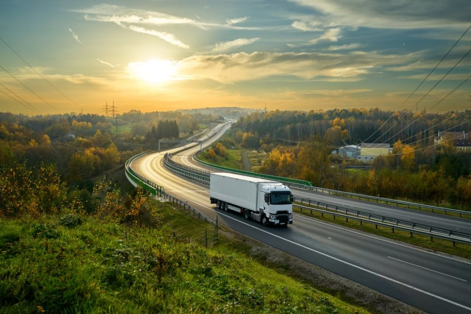 Staying awake while driving can ba a challenge for long haul truck drivers. So why are companies not utilizing smart trucker hats? | Image by Milos Muller | Shutterstock
