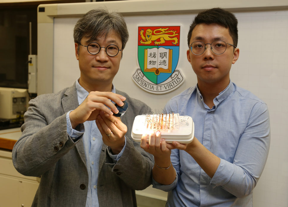 A team of researchers from Hong Kong may have just created the breakthrough needed to develop robots with artificial muscles and other flexible materials.   Image via hku.hk
