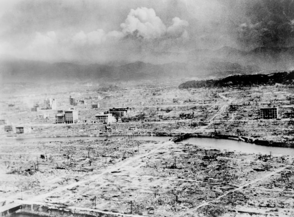 A team of Japanese students have created a Hiroshima bombing VR experience. | Image by Everett Historical | Shutterstock