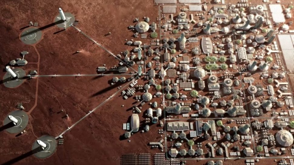 Elon Musk's planned Mars City | 2017 International Astronautical Congress
