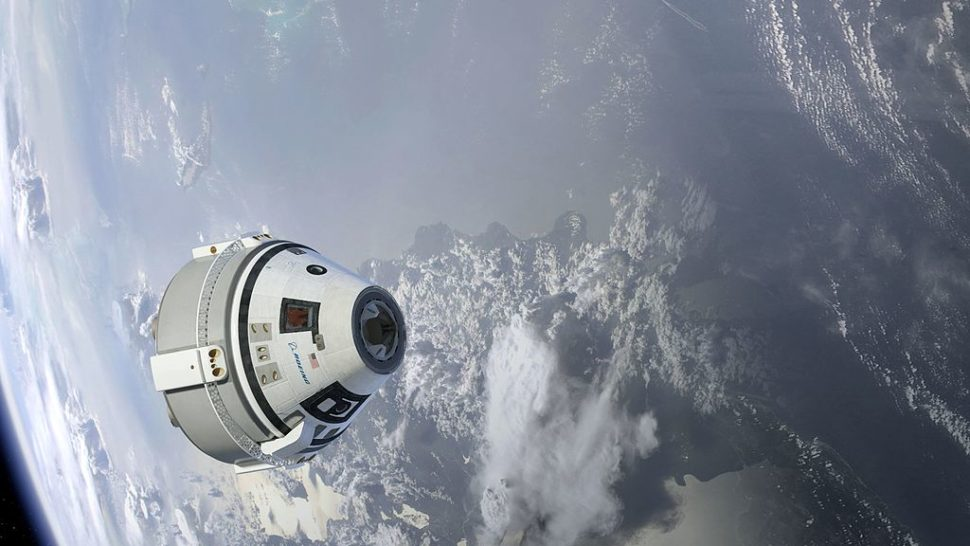 Artistic illustration of the CST-100 Starliner in orbit. | Boeing | NASA.gov