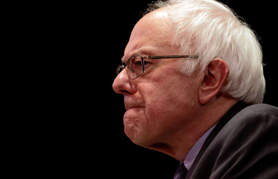 Bernie's BEZOS act may be a step in the right direction, but is it a step too far too soon?   Image By Trevor Collens   Shutterstock
